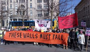 9 April 2020, Meet the Activists Marketplace @ People's History Museum. Photo © These Walls Must Fall (North West) & Right to Remain