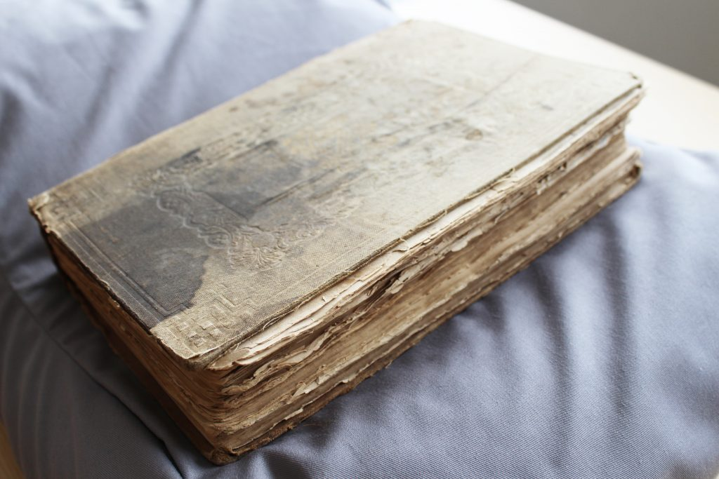 The poetical works of Lord Byron (front cover), owned by William Cuffay © People's History Museum