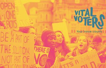 Vital Voters project at People's History Museum, design by Katie Mae Jones, photo by Callum Shaw on Unsplash