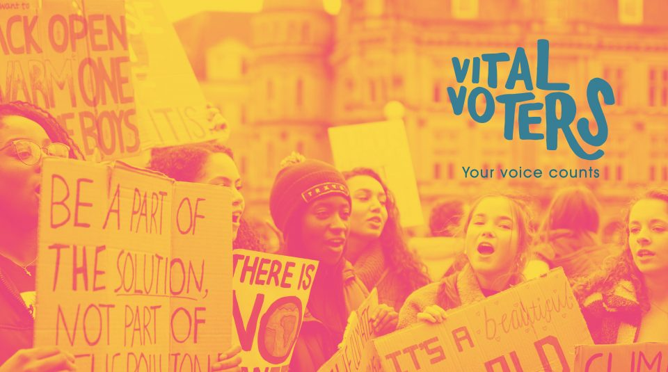 Vital Voters @ People's History Museum, design by Katie Mae Jones, photo by Callum Shaw on Unsplash