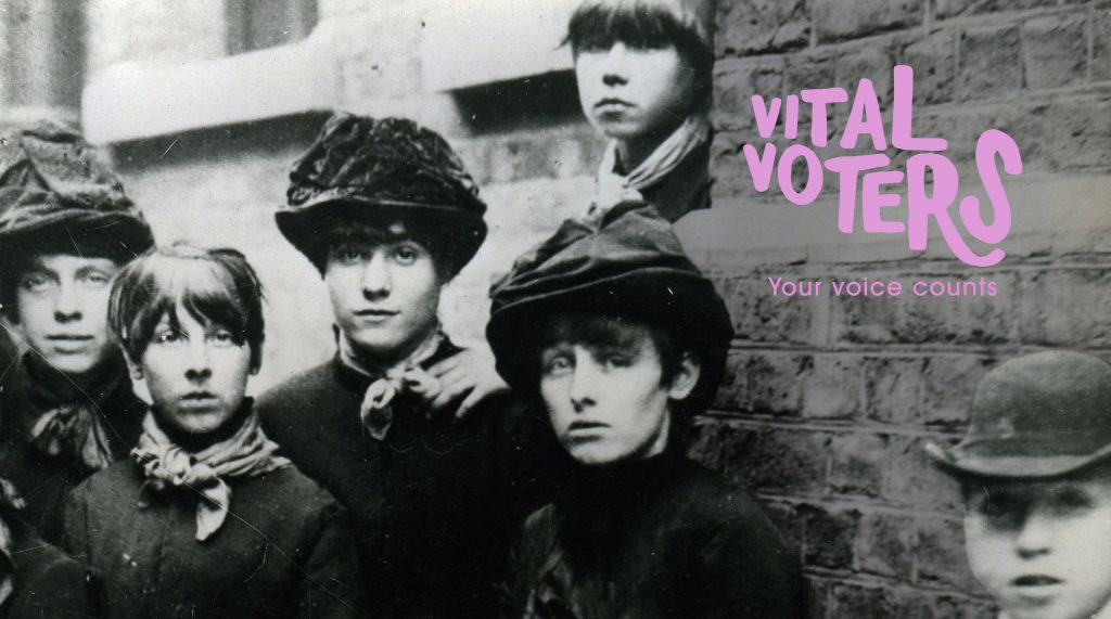 Vital Voters @ People's History Museum, Match Girls' Strike, 1888 photo © People's History Museum