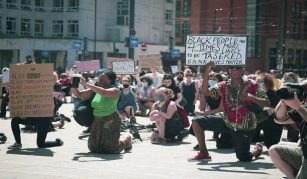 Black Lives Matter protest, Manchester, 31 May 2020, from People's History Museum's contemporary collection © Jake Hardy