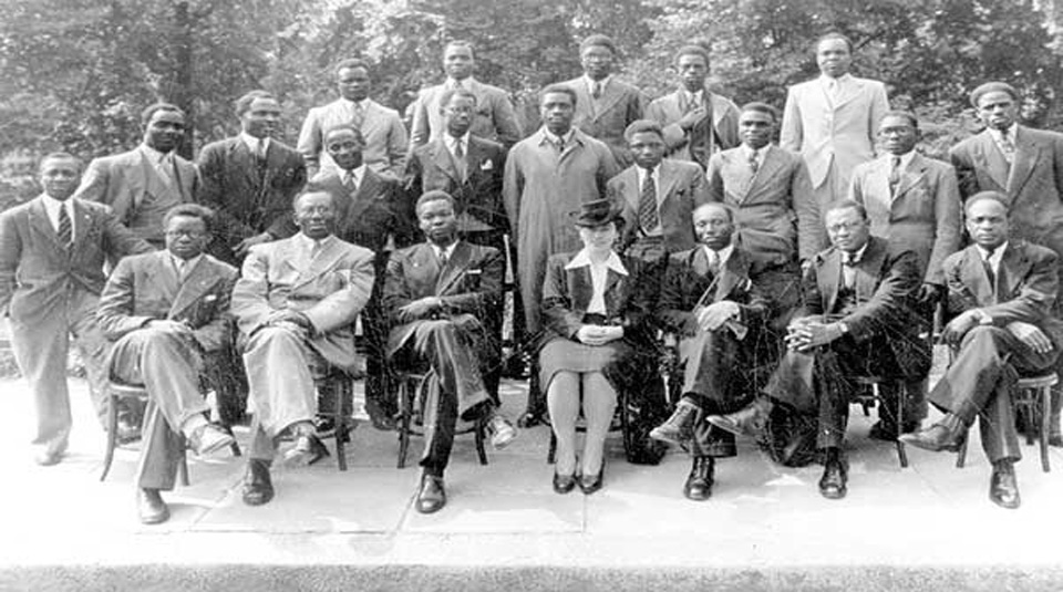 Delegates to the fifth Pan-African Congress, Manchester, 1945 © Manchester Archives+
