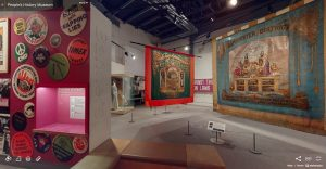 3D tour of People's History Museum's main galleries