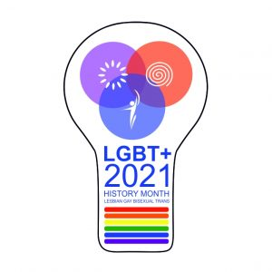 LGBT+ History Month 2021 logo