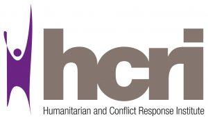 Humanitarian and Conflict Response Institute logo