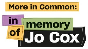More in Common: in memory of Jo Cox exhibition logo. Image courtesy of People's History Museum