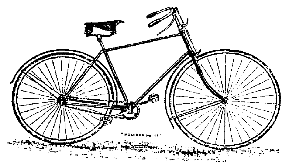 A Clarion bicycle. Copyright unknown