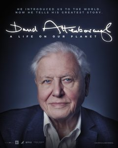 David Attenborough: A Life On Our Planet film screening poster