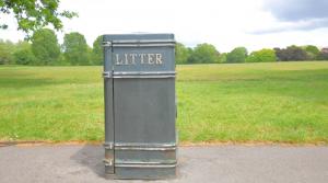 7. Pick up litter
