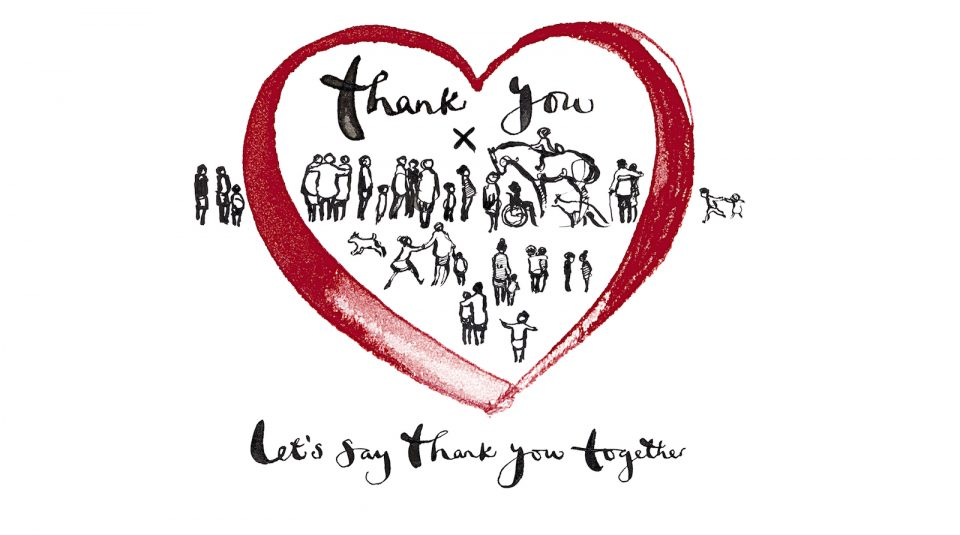 A national Thank You card for Thank You Day