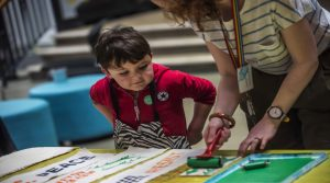 Family Friendly activities at People's History Museum