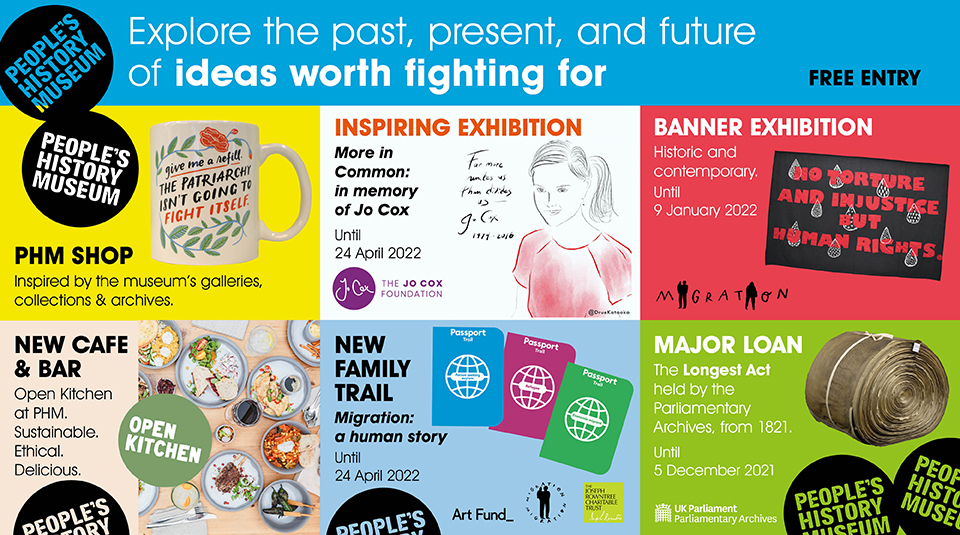 Explore the past, present and future of ideas worth fighting for