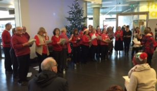 Thurs 9 December 2021, Christmas Choir Performance from the Manchester Civil Service Choir at People's History Museum
