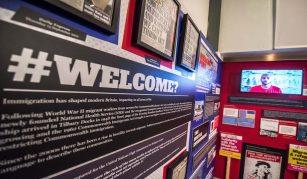 #WELCOME? exhibition, People's History Museum, 19 May 2021 until 9 Jan 2022